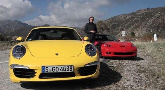 Chevrolet Corvette C6 Grand Sport i Porsche 911 Carrera S