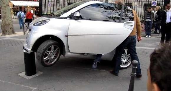Smart Fortwo parkowanie