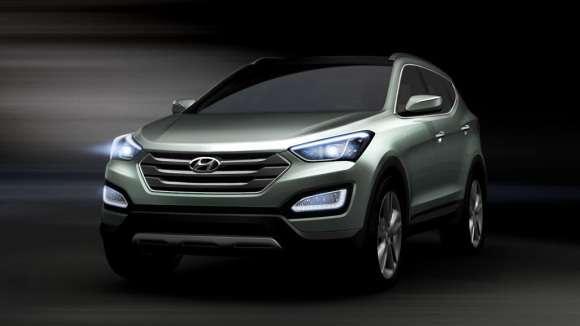 Hyundai Santa Fe (ix45) 2013