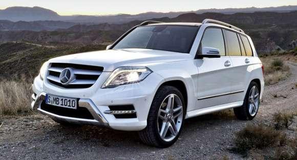 Mercedes-Benz GLK 2013 facelifting