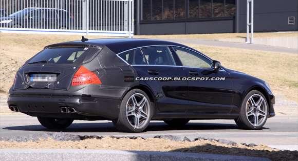 2013 Mercedes CLS 63 AMG Shooting Brake