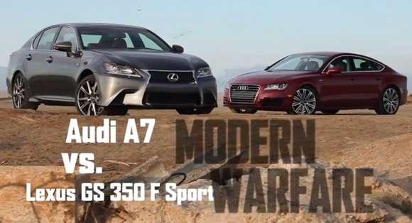 Audi A7 vs. Lexus GS 350