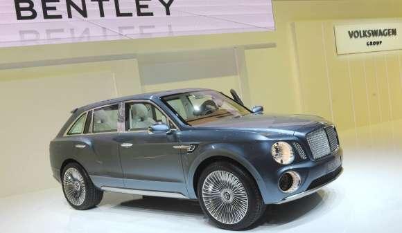 Bentley EXP 9 F SUV Concept Genewa 2012