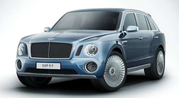 Bentley EXP 9 F nowy SUV
