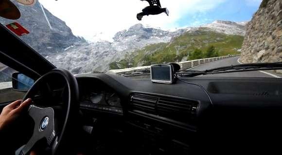 BMW E30 325i Przełęcz Stelvio