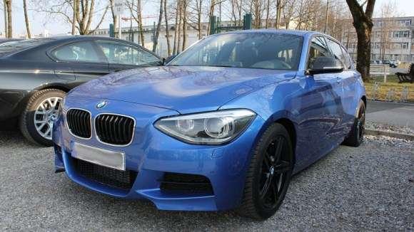 BMW M135i szpiegowskie
