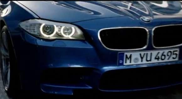 BMW M5 2012 reklama