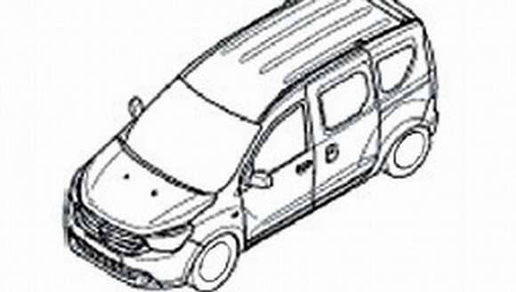 Dacia Dokker szkic