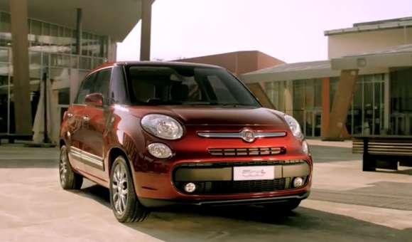 Fiat 500L na oficjalnym klipie