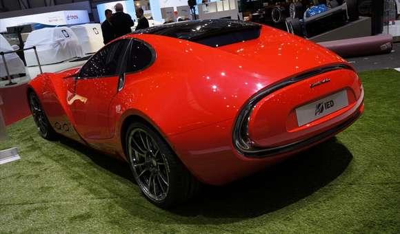 Cisitalia 202 E Sports Coupe Concept