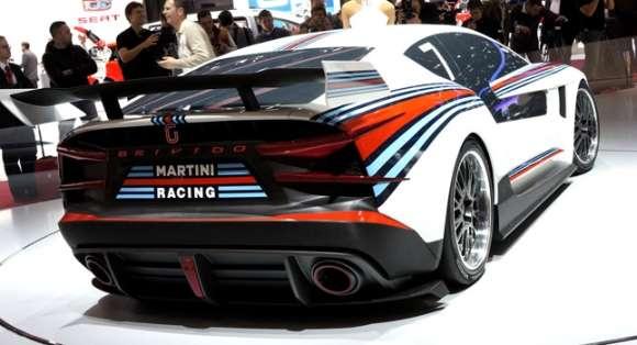 Italdesign Brivido GT Martini Racing Genewa 2012