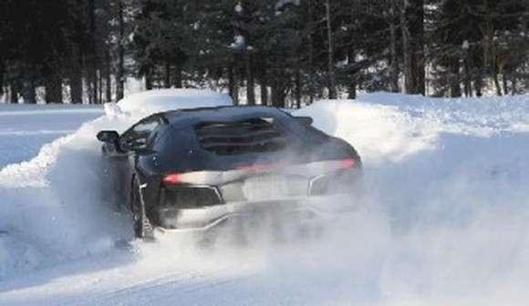 Lamborghini Aventador wypadek crash