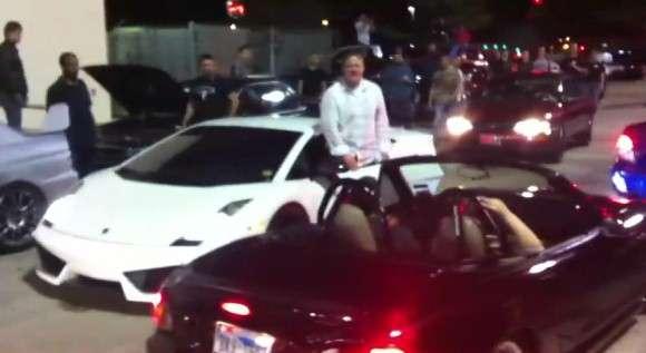 Lamborghini Gallardo Superleggera parada