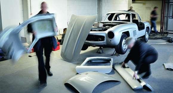 Replika Mercedesa 300SL