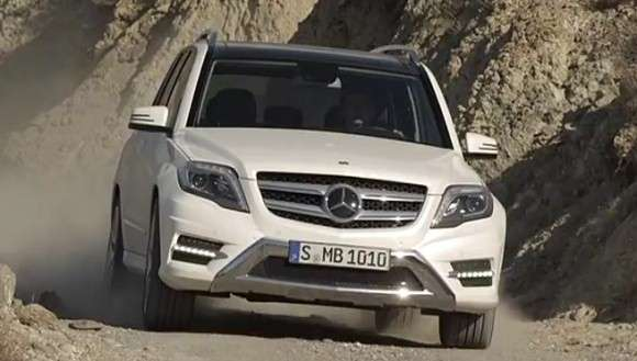 Mercedes GLK facelift 2013