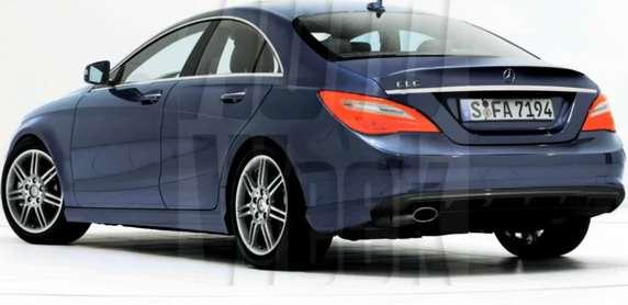 Mercedes CLC rendering