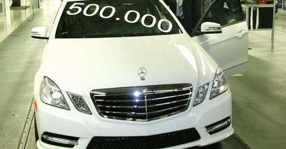 Mercedes E350 4MATIC 500 000