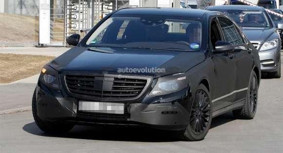 Mercedes S 2013 na zdjęciach szpiegowskich