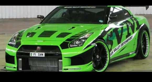 Nissan GT-R Severnvalley Motorsport