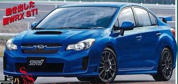 Nowe Subaru WRX STI rendering