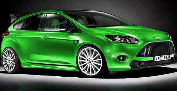 Nowy Ford Focus RS wizualizacja
