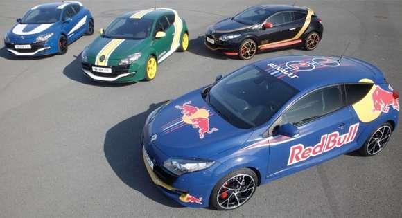 Renault Megane RS dla uczczenia startów w F1