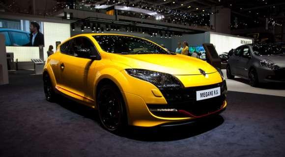 Renault Megane RS facelift 2012