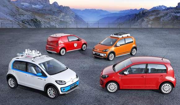 Wyjątkowe edycje Volkswagena Up! w Genewie