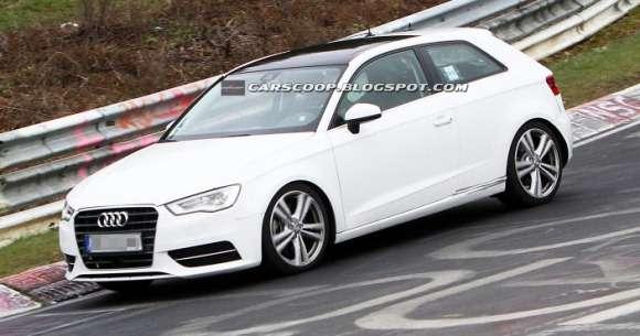 Audi S3 2013 szpiegowskie