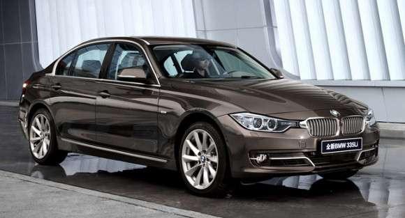 Nowe BMW serii 3 2012 wydłużone