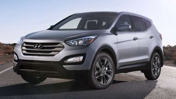Hyundai Santa Fe model 2013