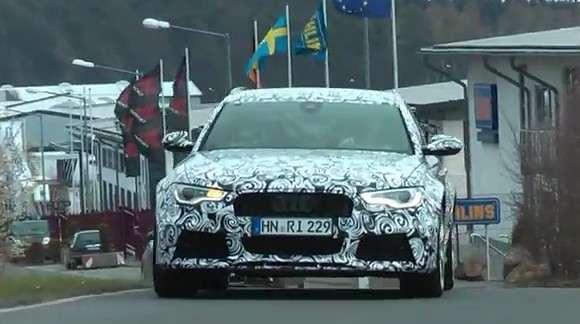 Audi RS6 Avant 2014 szpiegowskie
