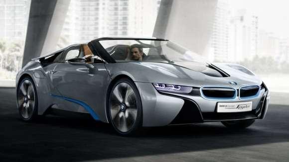 BMW i8 Concept Spyder oficjalnie