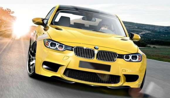 BMW M3 2014 wizualizacja
