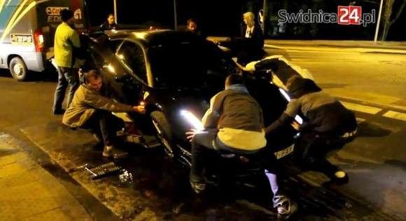 Ferrari 458 Italia wypadek w Polsce