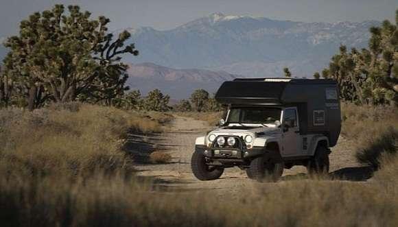 Jeep Wrangler kamper