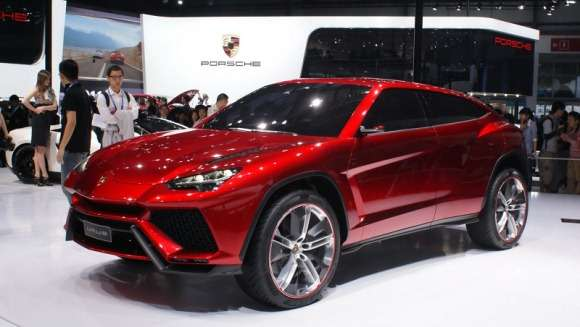 Lamborghini Urus live