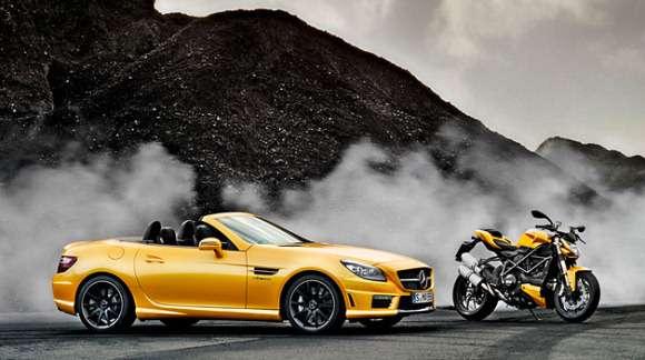 Mercedes AMG i Ducati