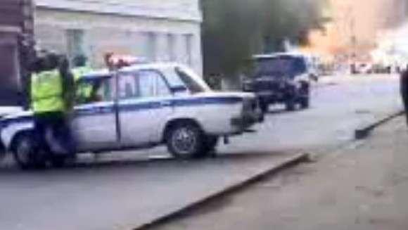 Mercedes-Benz G 55 AMG i rosyjska policja