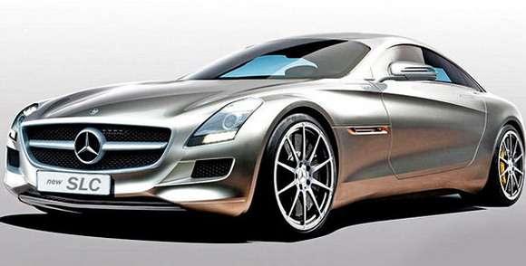 Mercedes SLC Rendering