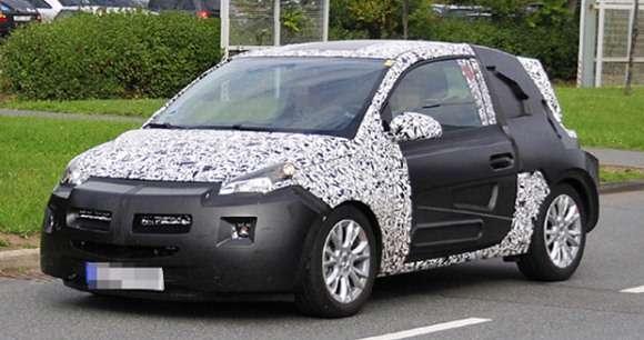 Opel Adam szpiegowskie