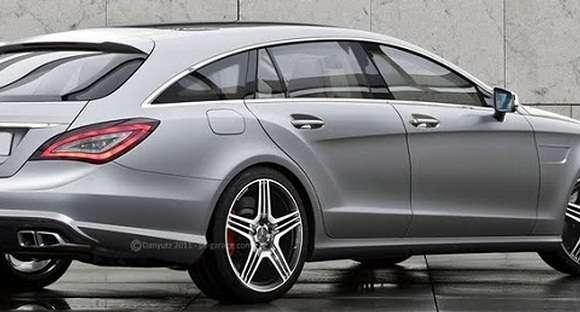 Mercedes-Benz CLS Shooting Brake 2013