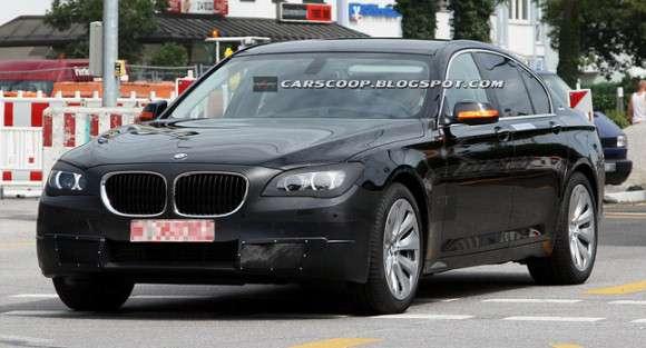 BMW 7 2013 facelifting