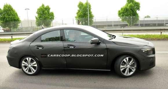 Mercedes CLA 2013 szpiegowskie