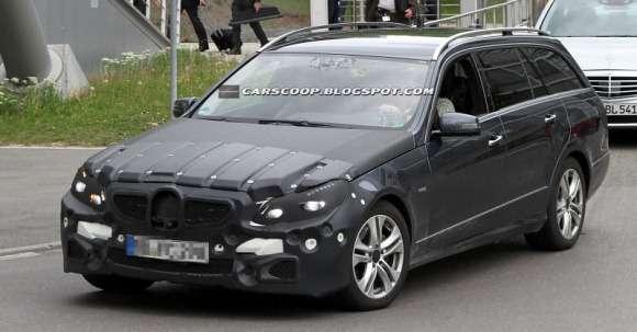 Mercedes klasy E 2013 facelifting