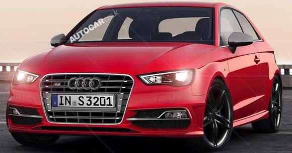Audi S3 2013 rendering