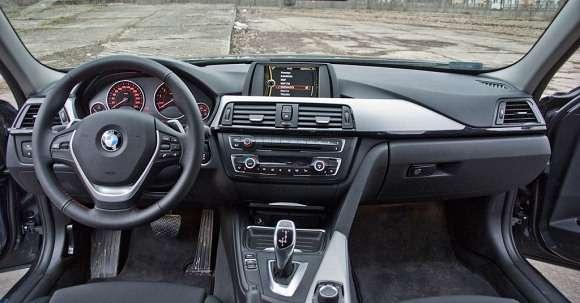 Nowe BMW serii 3 wnętrze