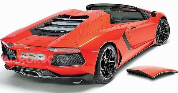 Lamborghini Aventador Roadster rendering