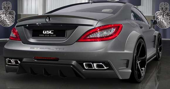 Mercedes CLS63 AMGStealth GSC