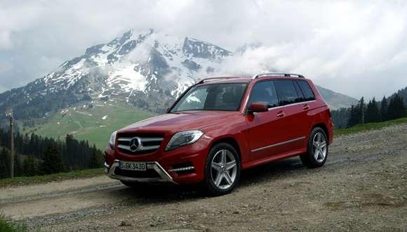 Mercedes GLK 2013 facelift